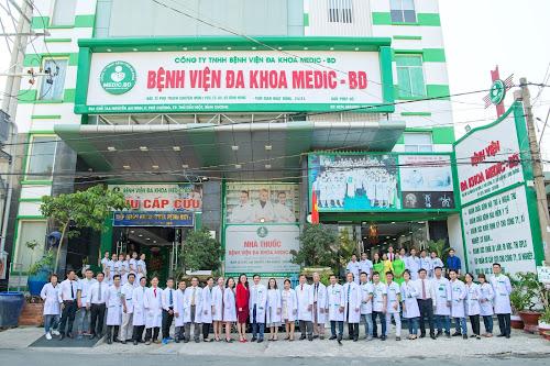 Phòng khám đa khoa bệnh viện Medic tại Bình Dương
