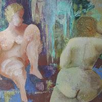 Sonja Sananes pintura figurativa