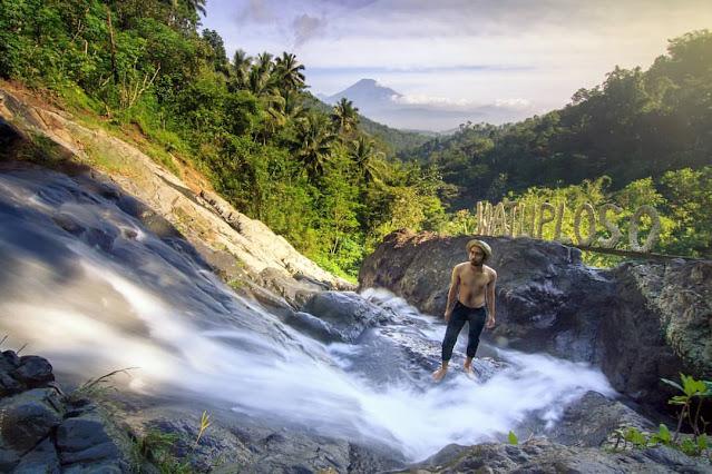 Tempat Wisata Air Terjun Terbaik di Magelang - Curug Watuploso, Magelang