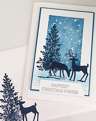 Card and envelope - Happiest Christmas Wishes