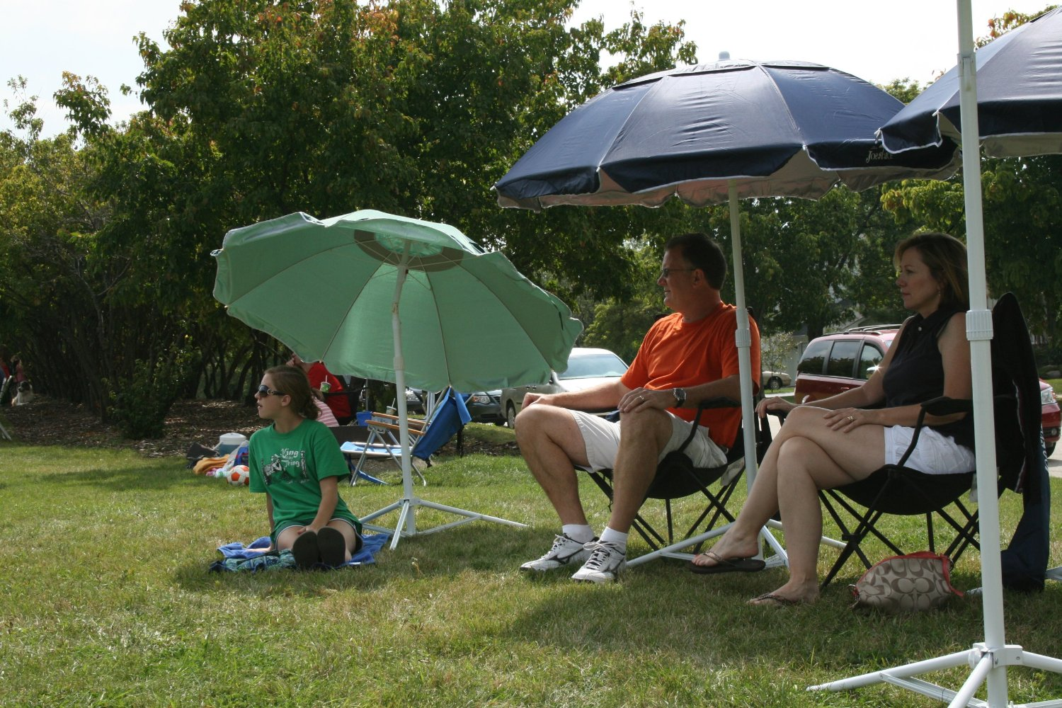 Portable Beach Chair With Umbrella Jazzy Power Battery Replacement Joe Shade Sun Umbrellas Images
