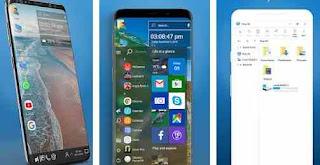 Cara Ganti Tampilan HP Android Seperti Windows 10