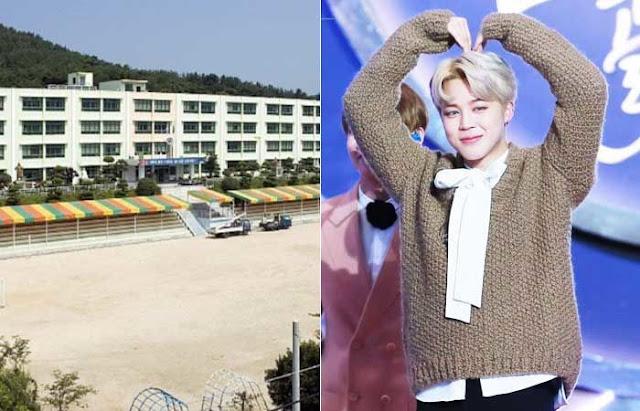 Ketika Jimin BTS mengetahui bahwa bekas sekolah dasarnya ditutup, ini adalah hal yang mengharukan yang dia lakukan untuk siswa yang masih ada.
