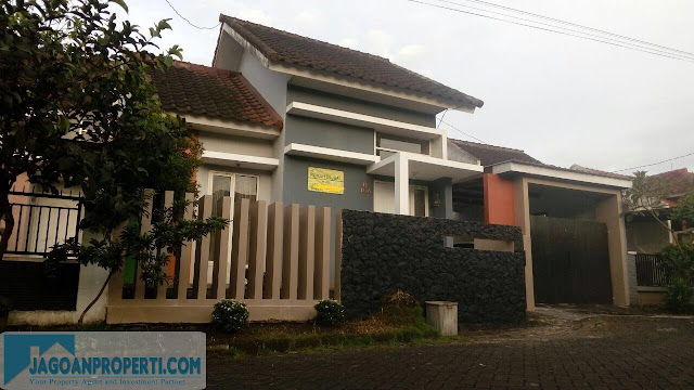 Rumah minimalis luas dijual di Malang