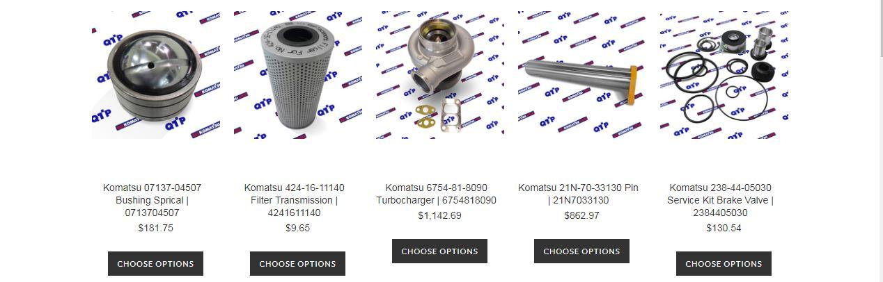 All Komatsu Parts: AllKomatsu - Get started Ordering Komatsu Spare