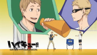 Hellominju.com: ハイキュー!! アニメ   烏野アイキャッチ 第3期 月島蛍   月島明光   Haikyū!! Commercial Break    Hello Anime !