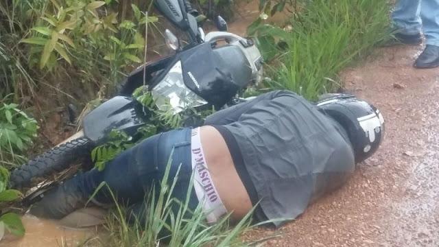 Sitiante é morto com três tiros em emboscada no setor rural de Porto Velho
