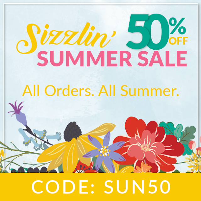 50% off Summer Sale