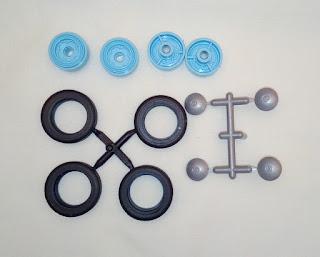 ruedas de la maqueta