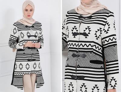 Manteau Hijab Turque pour Hiver signé REFKA