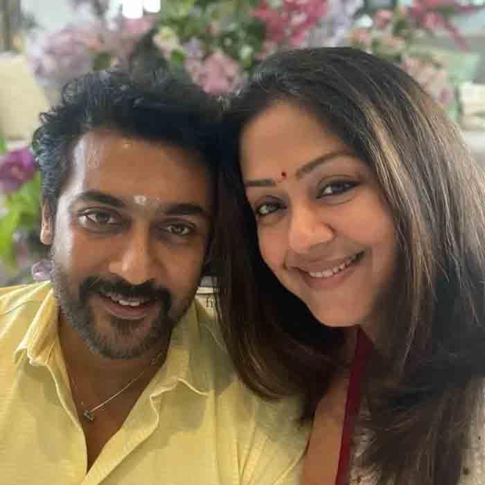 Jyotika shares an adorable PHOTO with Suriya on 15th wedding anniversary; He says 'you are my blessing jo', Chennai, News, Cinema, Entertainment, Actress, Celebration, Social Media, National