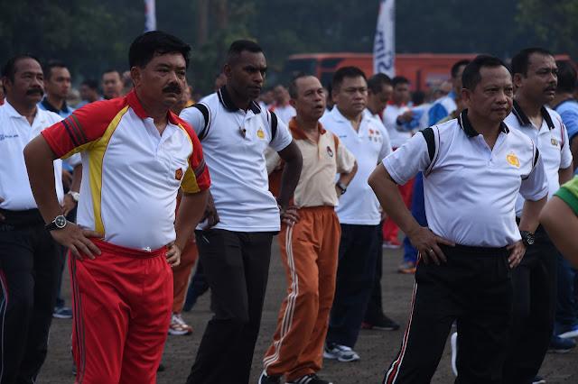 Panglima TNI : TNI dan Polri Solid, NKRI Terjaga