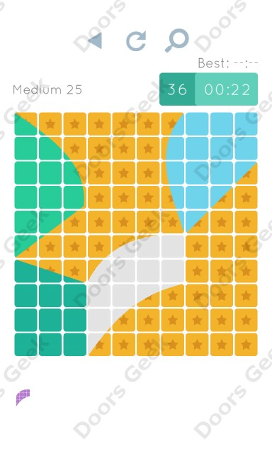 Cheats, Walkthrough for Blocks and Shapes Medium Level 25