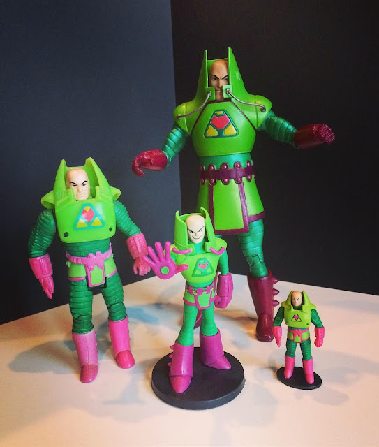 Lex Luthor battle armor figures