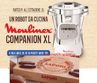 """Concorso """"Festeggia il Natale con Sapori"""" : vinci gratis 20 Kit di prodotti Sapori 1832 e 1 Robot da cucina Moulinex"""