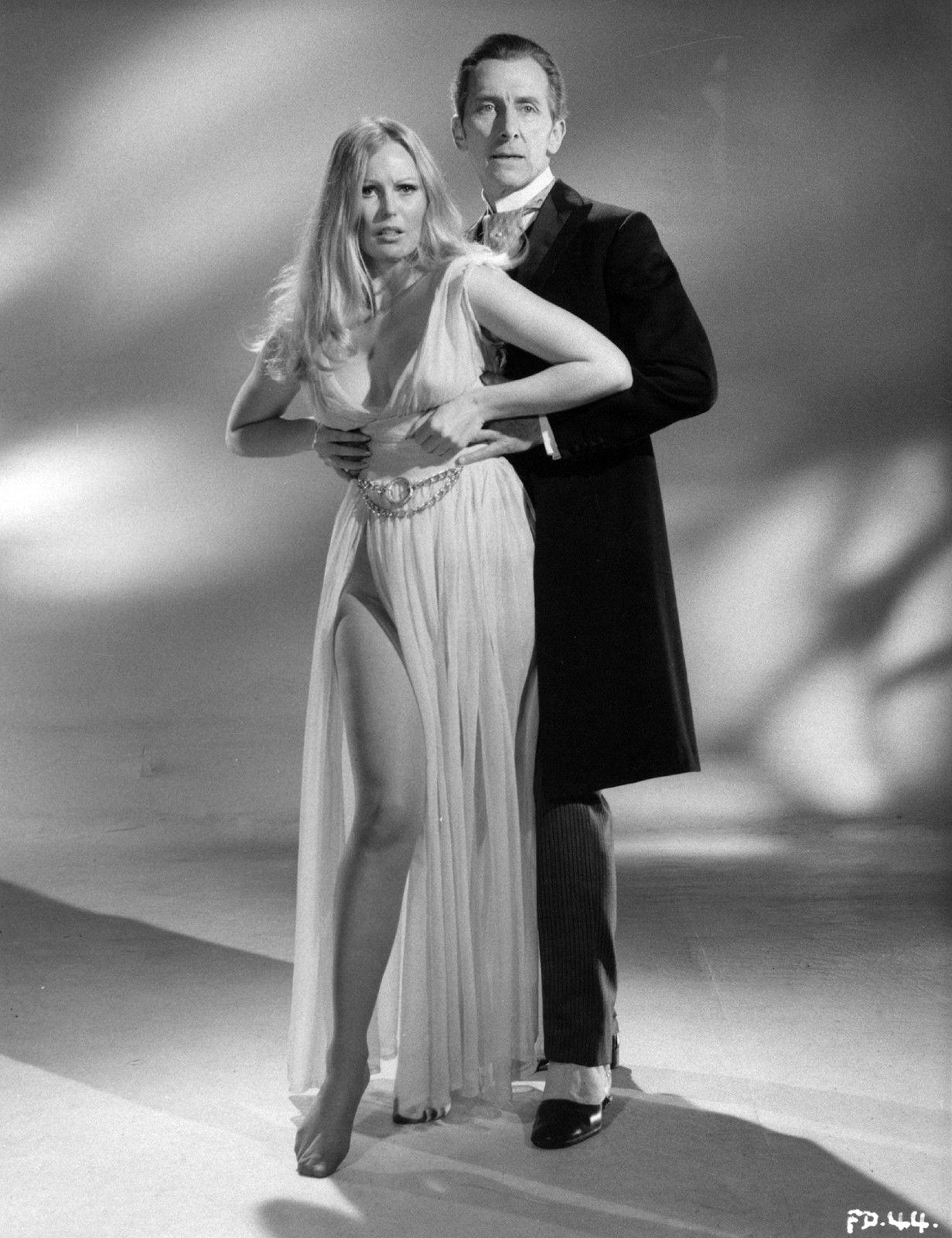 Hammer Films: Dracula Has Risen from the Grave (1968), Frankenstein Must Be Destroyed (1969) and The Horror Of Frankenstein (1970), Veronica Carlson