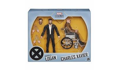 "San Diego Comic-Con 2020 Exclusive X-Men Movie Logan & Charles Xavier Marvel Legends 6"" Action Figure Box Set by Hasbro"