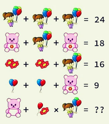 Kid Balloons Teddy Flower Puzzle