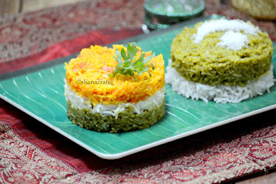 Spinach Rice ~ Tomato Rice