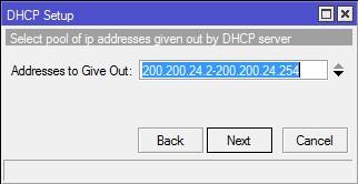 KONFIGURASI DHCP CLIENT DAN SERVER DI MIKROTIK