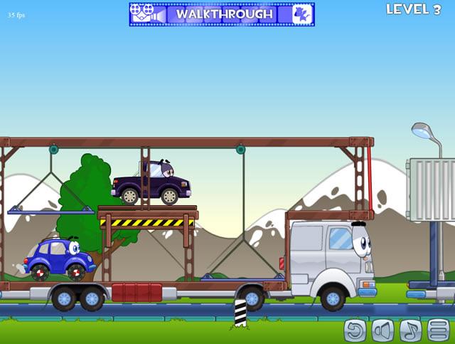 Wheely das rote Auto Spiel 2