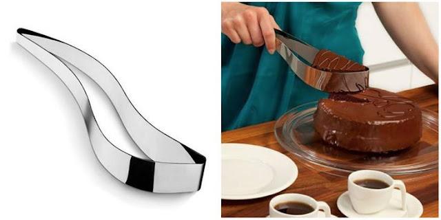 سكين / حامل كعكة