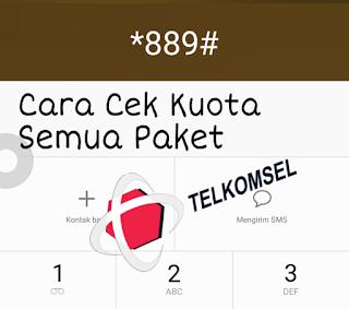 Cara Cek Kuota Telkomsel Semua Paket
