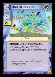 My Little Pony Defend the Hive! Friends Forever CCG Card