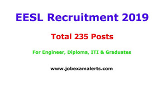 eesl recruitment 2019