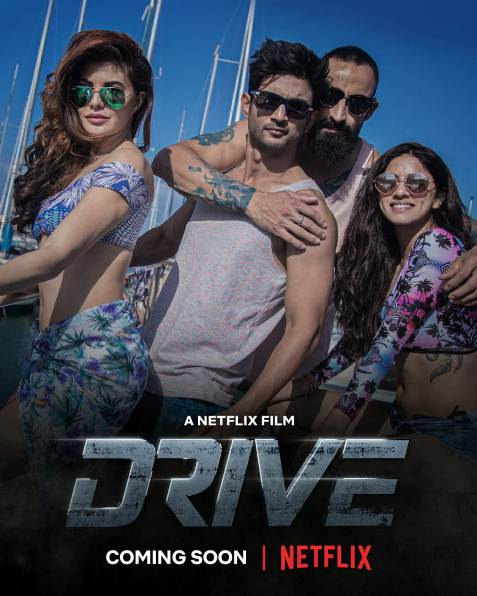 Drive new upcoming movie first look, Poster of Shshant, Jacqueline next movie download first look Poster, release date