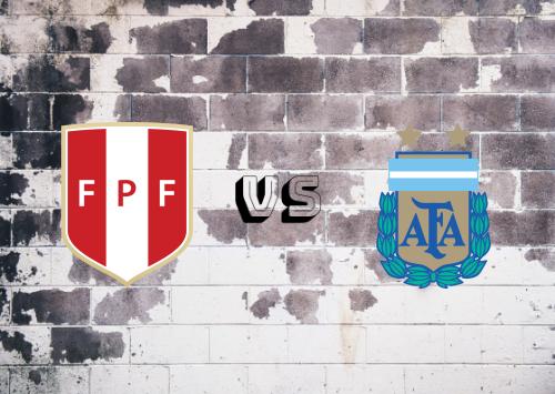 Perú vs Argentina  Resumen y Partido Completo