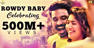 rowdy baby, rowdy baby video song, maari songs, maari video songs, anegan video songs, maari movie, maari Tamil movie