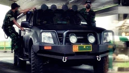 Gambar Kendaraan serbu Sat-81 Gultor milik Kopassus