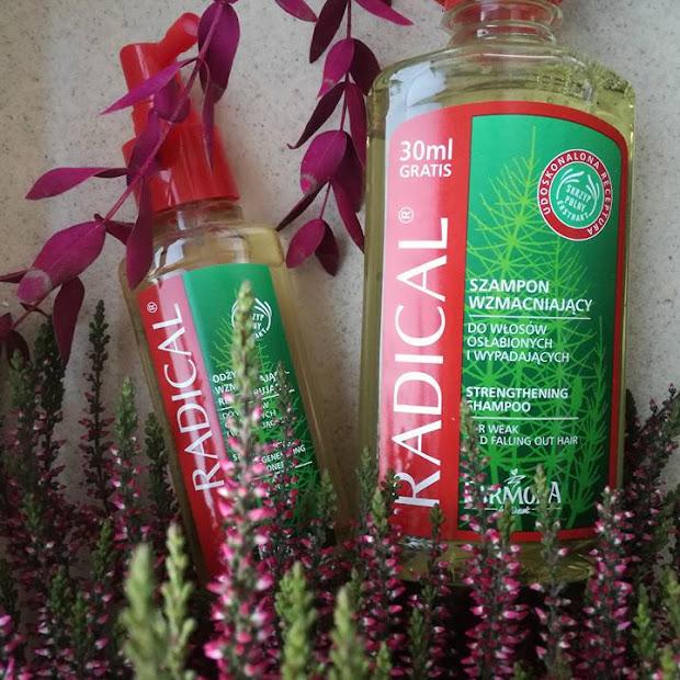 Farmona Radical szamon i odżywka wzmacniająco-regenerująca