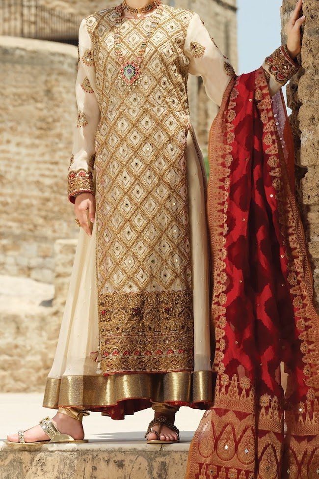 Almirah off white Color Banarsi suit party wear collection 2020