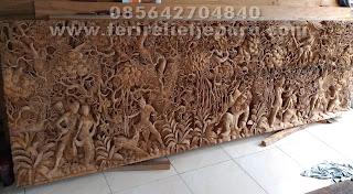 ukiran relief ramayana