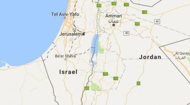 Protes !!! Lenyap dari Google Maps Nama Palestina Digantikan Israel