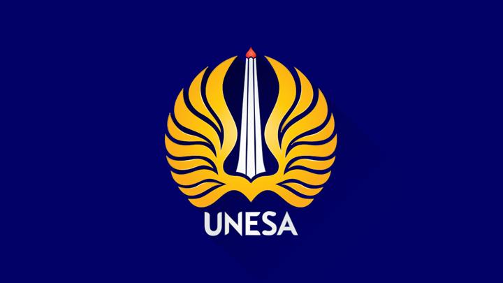 Logo Universitas Surabaya UNESA fea