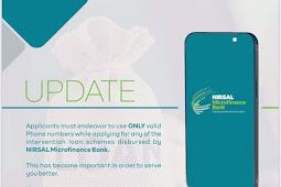 UPDATE: NIRSAL Microfinance Bank Released Update About Valid Phone Numbers