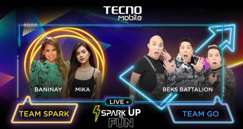 "TECNO Mobile ""Spark Up the Fun"" Livestream Happening this April 17 with Over 150 Phones and Cash Giveaways"