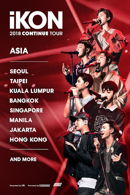 iKON 2018 CONTINUE TOUR