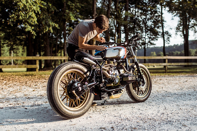 BMW R65 By One Up Moto Garage Hell Kustom