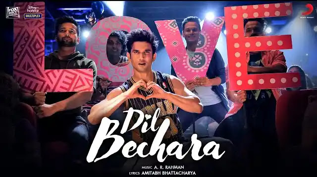 Dil Bechara Title Track Lyrics | Latest Hindi Songs 2020