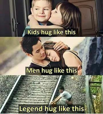Hug memes in hindi