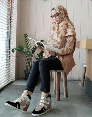 model jilbab ria ricis modern terbaru