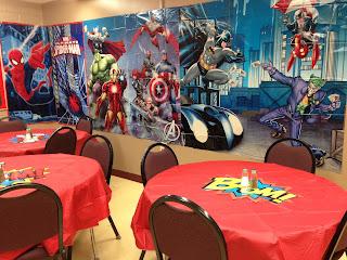 Teacher Lunchroom Superhero Decorations