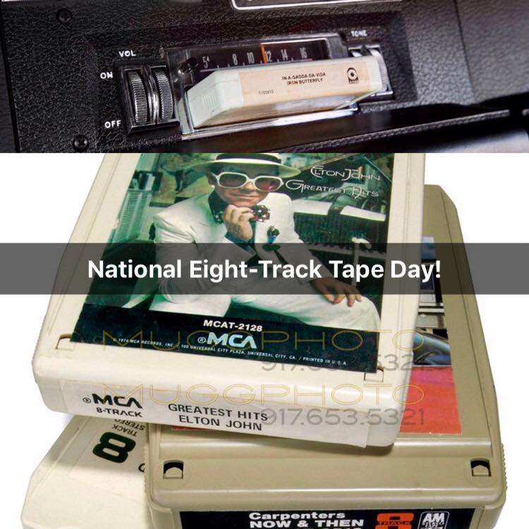 National Eight Track Tape Day Wishes Photos