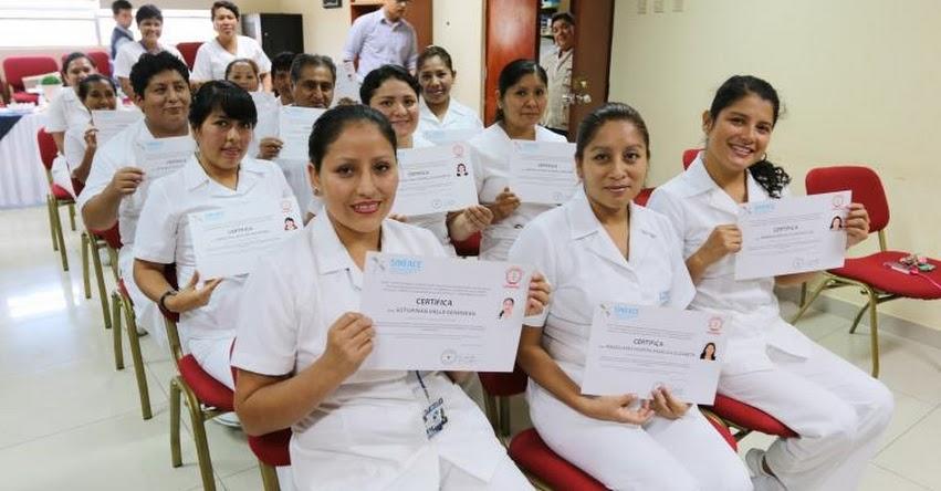 SINEACE: Más del 50% de los técnicos en enfermería del hospital «Casimiro Ulloa» certificaron sus competencias - www.sineace.gob.pe