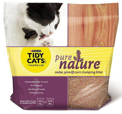 Free Purina Tidy Cats Pure Nature Cat Litter with Mail-In-Rebate