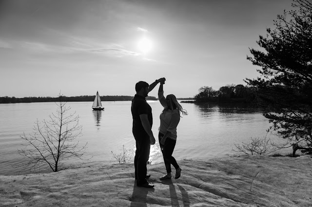 Quiet Waters Park Engagement Photos by Heather Ryan Photography